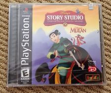 Disney's Story Studio: Mulan Factory Sealed Brand New Black Label !!