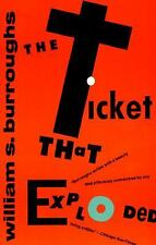 The Ticket That Exploded by William S. Burroughs 1994 Paperback Beat Generation