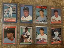 (8) Roger Clemens 1985 1986 Donruss Fleer Topps Rookie 2nd Card Lot RC Red Sox