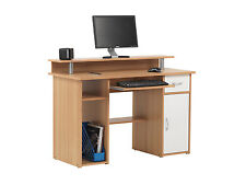 Alphason Albany Desk - Beech Effect