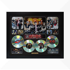AC/DC Signed & Framed Memorabilia - 4 CD - Black - Limited Edition - ACDC