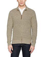Schott NYC Plfact1 Full Zipped Sweater Gilet Homme Beige (h Beige) M