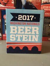 2017 Octoberfest Beer Stein SGA Washington Nationals NIB Stadium Give Away