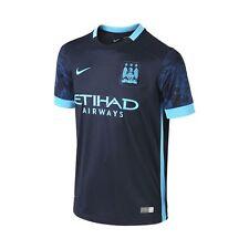 Nike Manchester City Season 2015-2016 Away Soccer Jersey Brand New Navy Blue