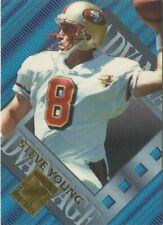 Steve Young 1996 Collector's Edge Advantage (Plus Bonus Card)