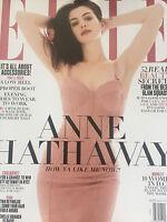 ELLE MAGAZINE - Anne Hathaway - Fashion - APRIL 2017---new