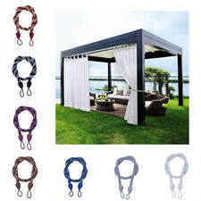 1 X Morden Home Window Curtain Cord Ropes Tie Backs Buckle Tiebacks Braided