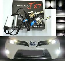 LED Kit S 100W 898 6000K White Two Bulbs Fog Light Upgrade Replacement Plug Play
