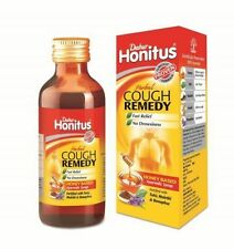Dabur honitus herbal syrup used for cough remedy syrup 100 ml pack of 3