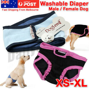XS-XL Dog Pet Male Female Nappy Diapers Shorts Sanitary Pants UndiesUnderpants