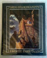 Greg Hildebrandt's Favorite Fairy Tales, FINE 1st edition