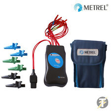 Metrel A1214 40 SWITCH ADATTATORE KIT PER TESTER + COCCODRILLO Clip + Morbida Borsa da trasporto