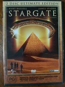 Stargate (DVD, 2005) 2 Disc Ultimate Edition R4, VGC Not ex-rental.