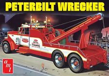 1:25 AMT PETERBILT SEMI WRECKER TOW TRUCK Plastic Model Kit *NEW SEALED*