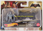 Hot Wheels Batman V Superman Dawn Of Justice 1:64 Vehicle And Figure By Mattel