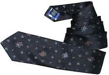 Paul Smith 100% Seide 8 cm Klinge Woven Floral Krawatte Bnwt Selten Made in Italy