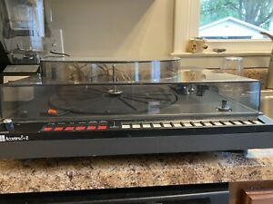 ADC Accutrac 6+ 3500 Vintage turntable with remote