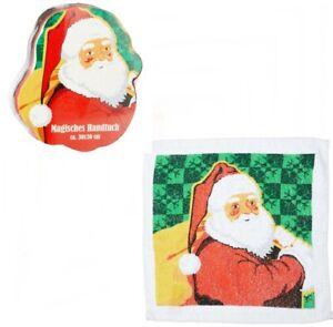 Magic Hand Towel Santa Claus Washcloth Christmas