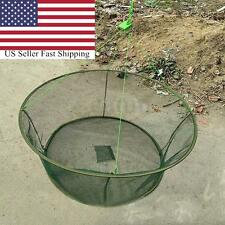 "40"" Portable Prawn Bait Crab Shrimp Net Drop Landing Fishing Pier Harbour Pond"