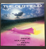 """THE OUTFIELD - Since You've Been Gone 7"""" Vinyl Single Record 45 VG+ Aus Press"""