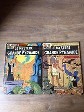 Blake et Mortimer Le Mystère de la Grande Pyramide  1 & 2 (1972) TTBEJacobs