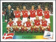 PANINI WORLD CUP FRANCE 1998- #210-DANMARK-DENMARK TEAM PHOTO