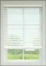 "Allen + Roth Cordless 2"" Faux Wood Blinds White. Precut to 20 1/2"" x 42"" 0924683"