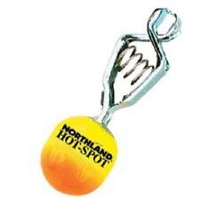 Northland Tackle HS2-108 Depth Finder Chartreuse Orange Pee Wee Clip 3/4 oz ICE