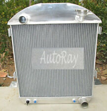 Aluminum Radiator for Chevy Model-T Bucket Ford Grill Shells 24-27 Hotrod 25 26