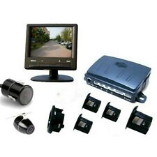 "Parksafe PS00674C22 Car Van 3.5"" Parking Monitor & 4 Reverse Sensors & Camera"