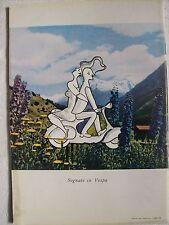 advertising pubblicità werbung VESPA PIAGGIO 1957 sognate LONGANESI