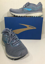 Brooks Ghost 12 Women's Size 5.5M EU 36 Gray Blue Athletic Running Shoes ZC-99
