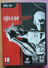KILLER IS DEAD NIGHTMARE EDITION PC DVD-ROM SLICE 'n' DICE GAME new & sealed UK!