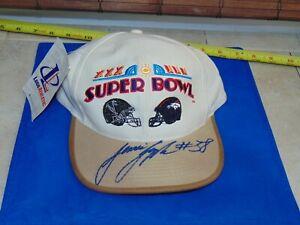 1999 Super Bowl XXXIII Atlanta Falcons JESSIE TUGGLE  autograph signed Hat