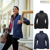 Ladies Regatta Diamond Quilted Jacket Water Repellent Tarah Jacket Coat Woman's