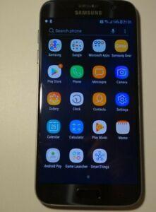 Samsung Galaxy S7 SM-G930 - 32GB - Black (Unlocked) Smartphone