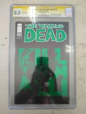 Walking Dead The Governor Special #1 Green Foil CGC 8.5