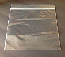 100 Clear (6.5x6) Plastic Pouches, Sandwich Ziplock Bags, Snack Ziploc Baggies