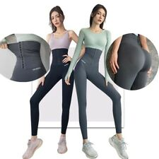 Women's Compression High Waist Tummy Control Yoga Pants Girdle Workout Leggings
