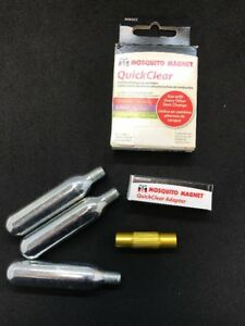 Mosquito Magnet 3-Quick Clear Cartridges & CO2 Adapter