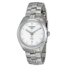 New Tissot PR100 Silver Dial Stainless Steel Men's Watch T1014101103100