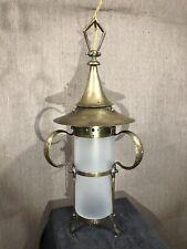 Art Nouveau, Arts And Crafts Ceiling Lantern Circa 1900