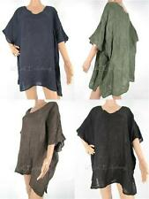 Linen V Neck Tunic, Kaftan Tops & Shirts for Women