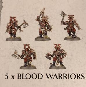 Warhammer Fantasy - Age of Sigmar - Blades of Khorne - 5x Blood Warriors