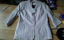 Refc43  Bnwt jacket Size 10 Dash.stripe. gorgeous