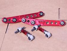 GEN 2 RED REAR LOWER CONTROL ARM+CAMBER SUSPENSION KIT CIVIC 96-00 EK EM EK9 EM1