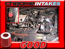 BLACK RED 1999 2000 2001-2005 PONTIAC GRAND AM/ALERO 3.4L COLD AIR INTAKE KIT 2p