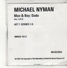 (CC721) Michael Nyman, Man & Boy: Dada - Disc 1 - 2005 DJ CD