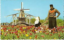 OLD PHOTO POSTCARD Holland MI De Zwaan DUTCH WINDMILL 1