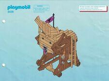 Playmobil Bauanleitung 4439 Barbaren-Angriffsturm
